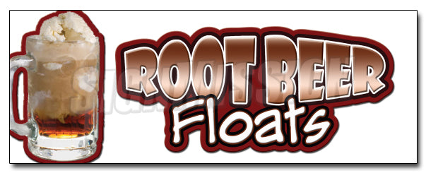 Root Beer Floats Decal