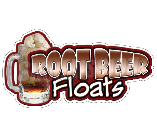 Rootbeer Floats Decal