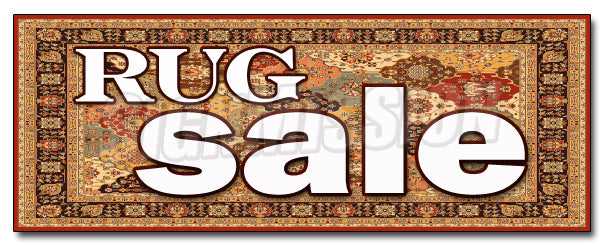 Rug Sale Decal