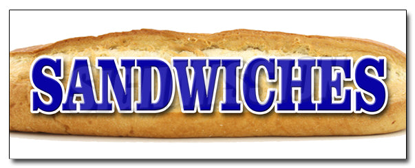 Sandwiches Decal