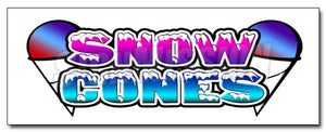 Snow Cones1 Decal
