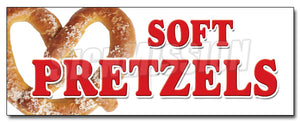 Soft Pretzels Decal