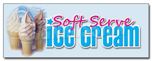 Soft Serve Decal