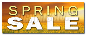 Spring Sale Decal