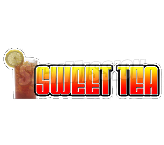 Sweet Tea Die Cut Decal