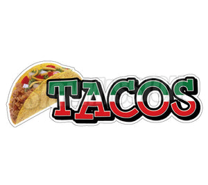 Tacos Decal