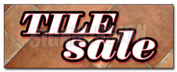 Tile Sale Decal