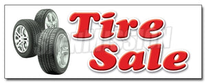 Tire Sale Decal