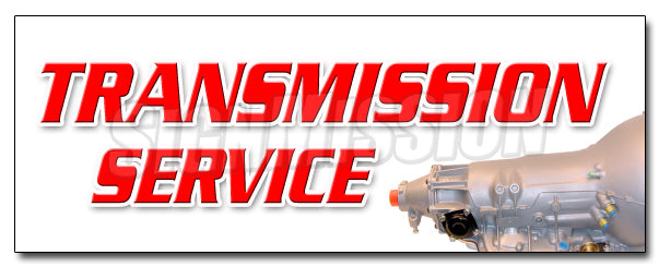 Transmission Service Decal