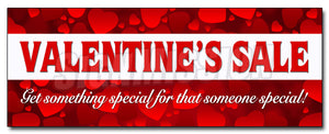 Valentines Day Sale Decal