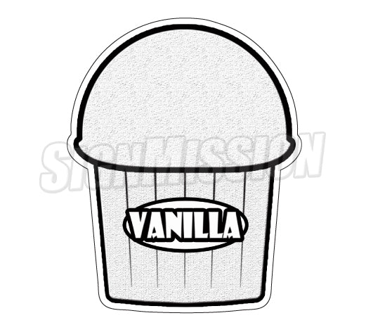 Vanilla Flavor Decal