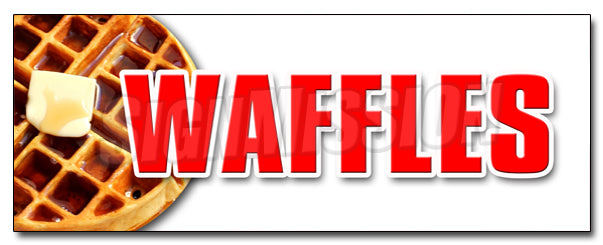 Waffles Decal