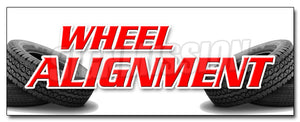 Wheel Alignment Decal