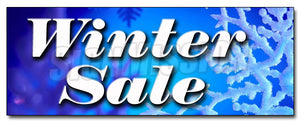 Winter Sale Decal