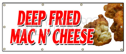 Deep Fried Mac N Cheese Banner