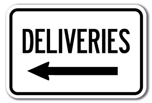 Deliveries with left arrow