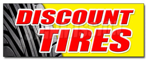 Discount Tires Decal