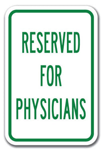 Reserved For Physicians