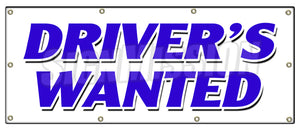 Drivers Wanted Banner