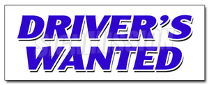 Drivers Wanted Decal