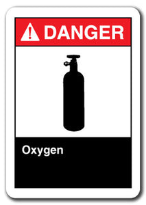 Danger Sign - Oxygen