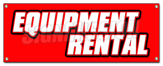 Equipment Rental Banner