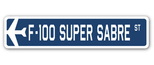 F-100 Super Sabre Street Vinyl Decal Sticker