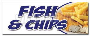 Fish & Chips Decal