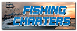 Fishing Charters Decal