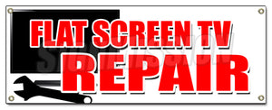 Flat Screen Tv Repair Banner