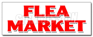 Flea Market Decal