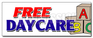 Free Daycare Decal