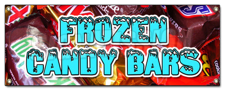 Frozen Candy Bars Banner