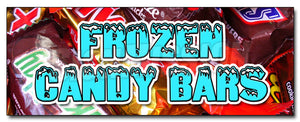 Frozen Candy Bars Decal