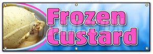 Frozen Custard Banner