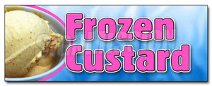Frozen Custard Decal