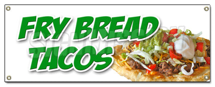 Fry Bread Tacos Banner