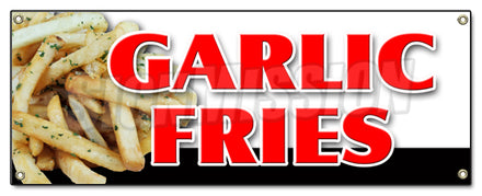 Garlic Fries Banner