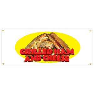 Grilled Ham And Cheese Banner