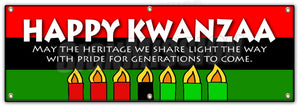 Happy Kwanza May The Her Banner