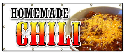 Homemade Chili Banner
