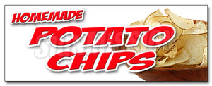 Homemade Potato Chips Decal