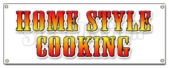 Home Style Cooking Banner