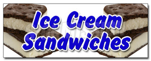 Ice Cream Sandwiches Decal