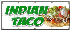 Indian Taco Banner