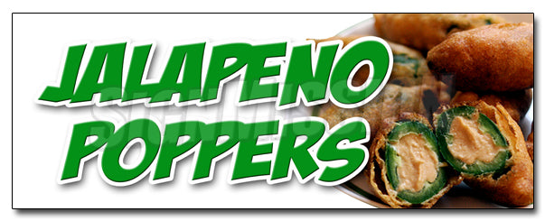 Jalapeno Poppers Decal