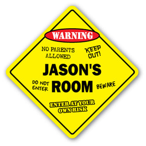 Jason's Room Vinyl Decal Sticker