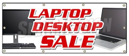 Laptop Desktop Sale Banner