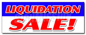 Liquidation Sale Decal
