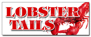 Lobster Tails Decal